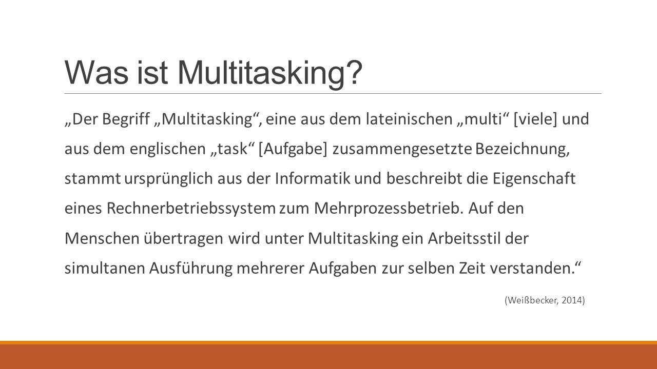 Was ist Multitasking