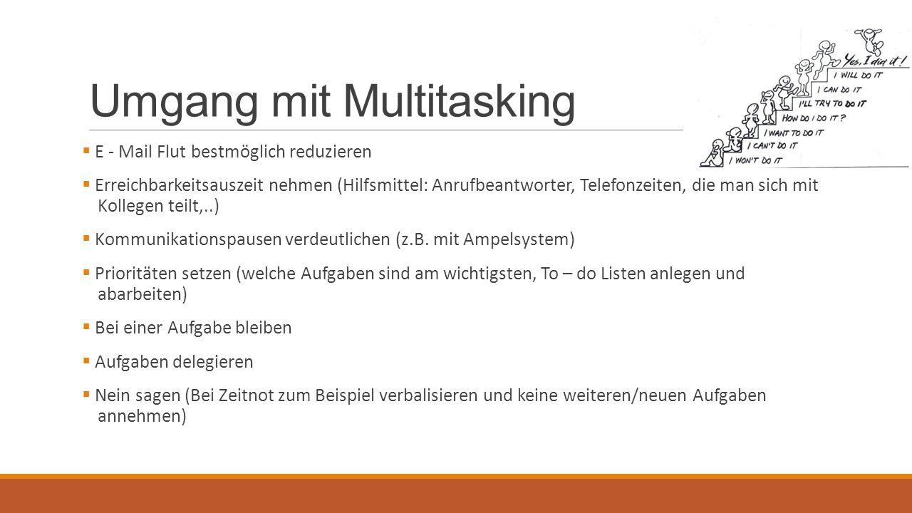 Umgang mit Multitasking