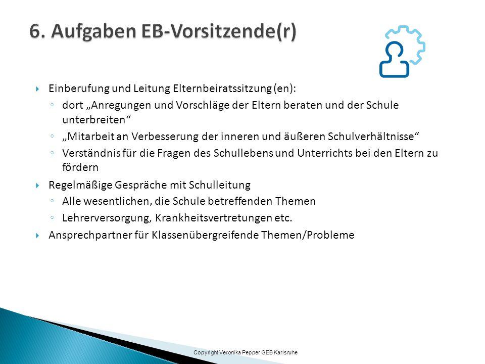 6. Aufgaben EB-Vorsitzende(r)