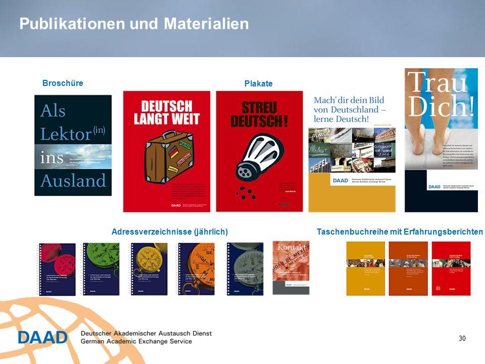 Publikationen und Materialien