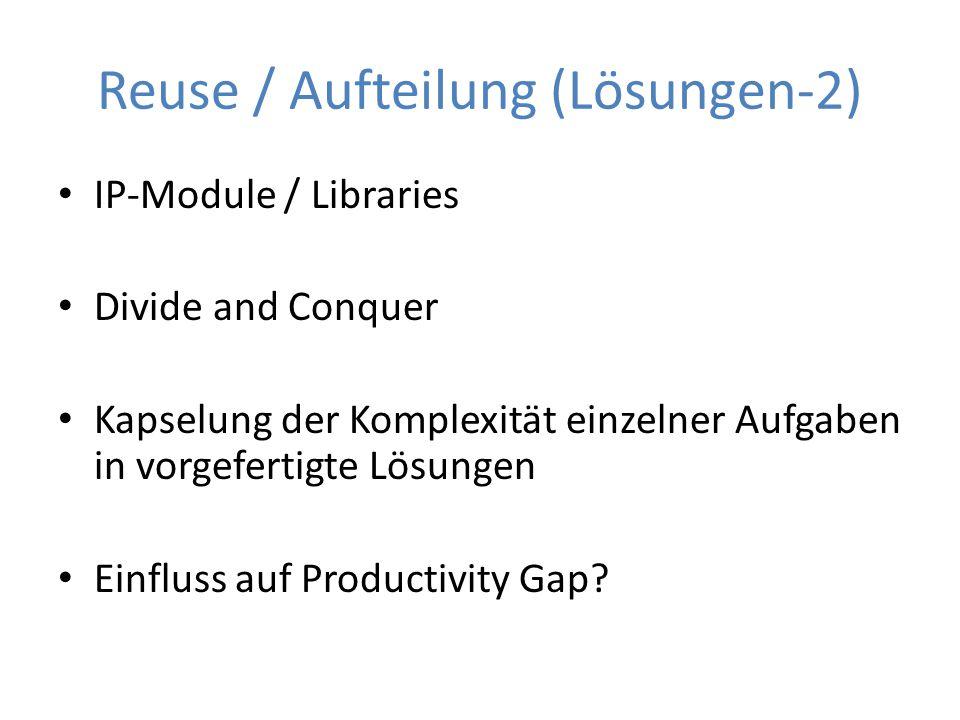 Reuse / Aufteilung (Lösungen-2)