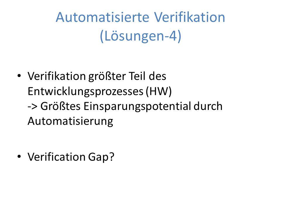 Automatisierte Verifikation (Lösungen-4)