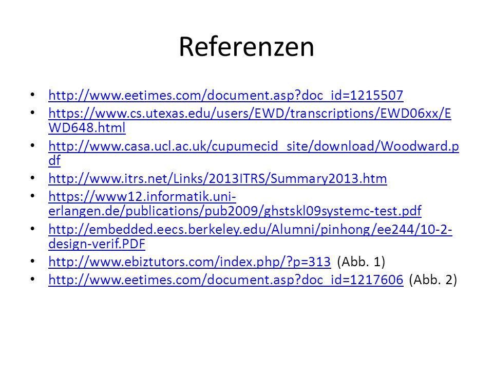 Referenzen http://www.eetimes.com/document.asp doc_id=1215507