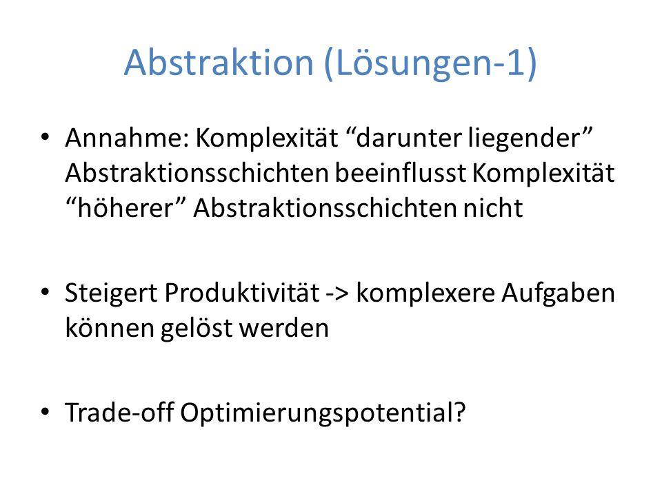 Abstraktion (Lösungen-1)