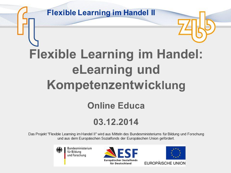 Flexible Learning im Handel: eLearning und Kompetenzentwicklung