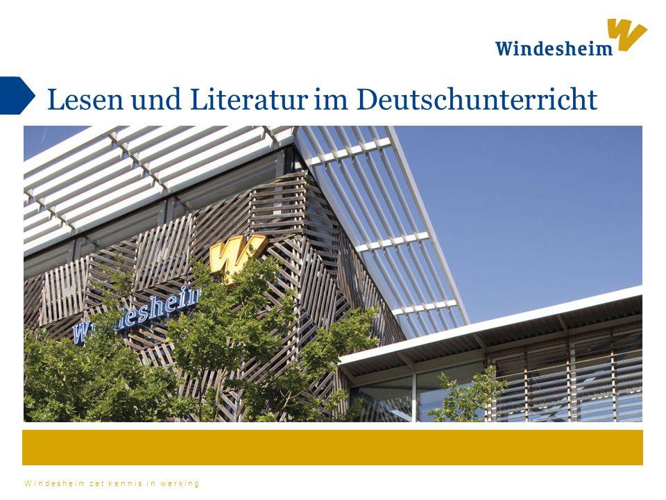 Lesen und Literatur im Deutschunterricht