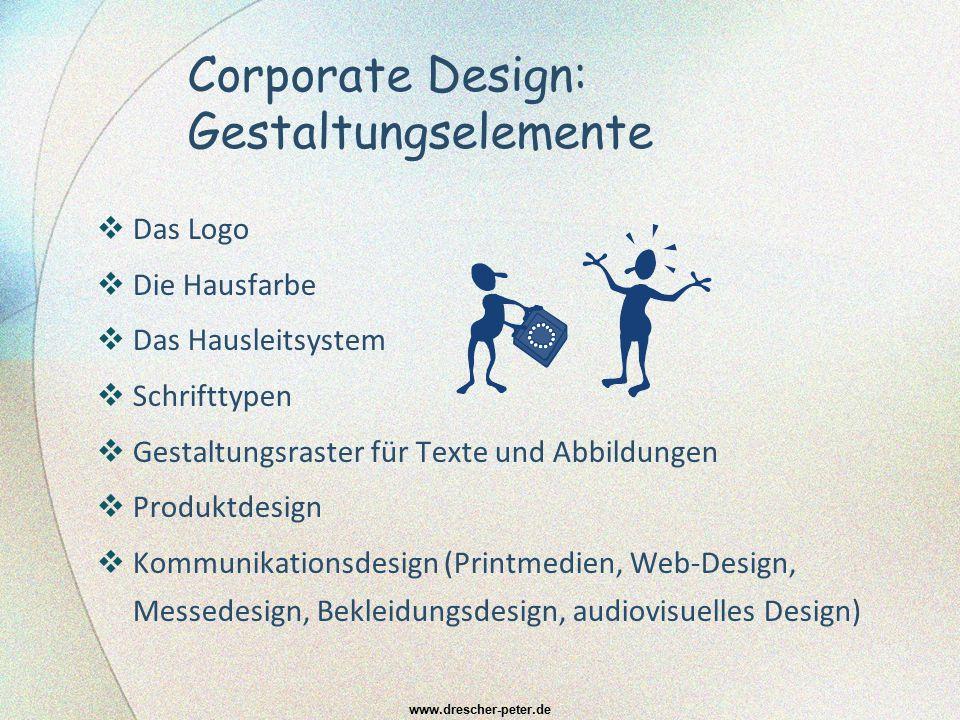Corporate Design: Gestaltungselemente