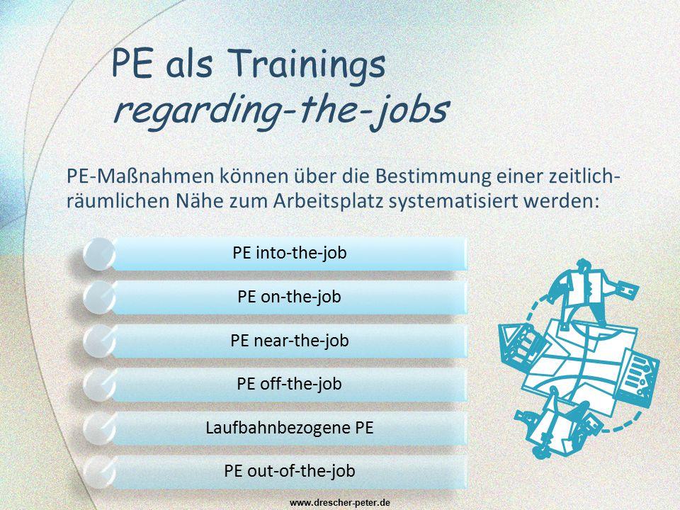 PE als Trainings regarding-the-jobs
