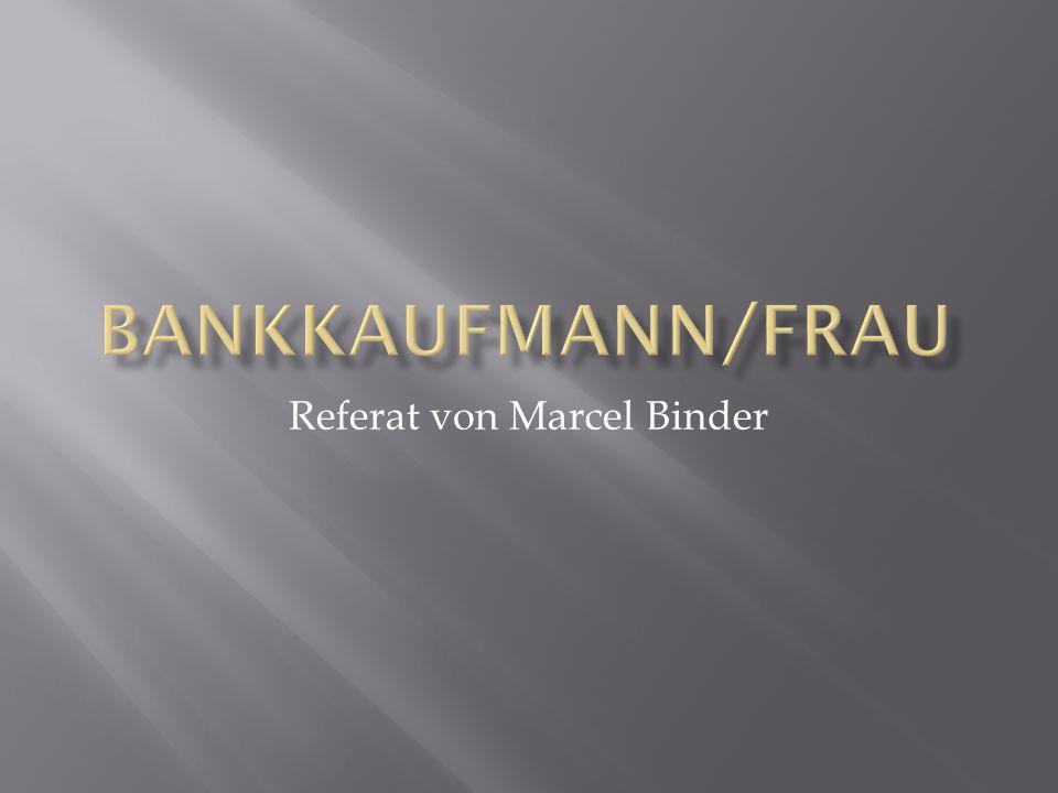 Referat von Marcel Binder