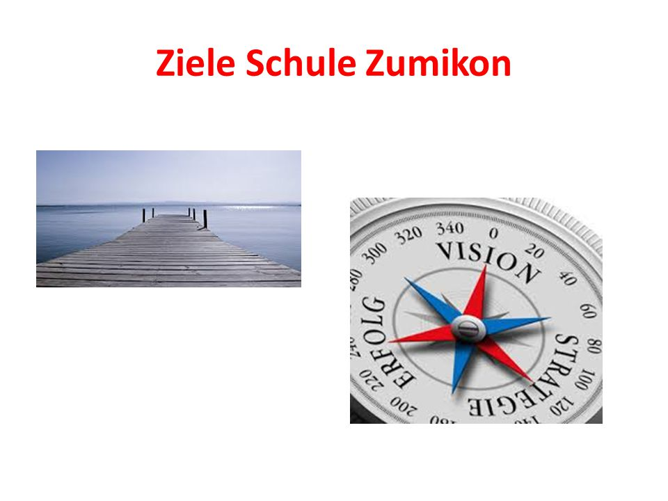 Ziele Schule Zumikon