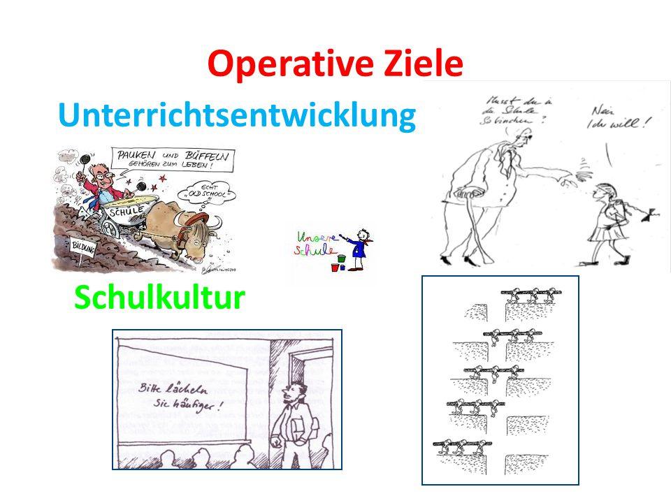 Operative Ziele Unterrichtsentwicklung Schulkultur