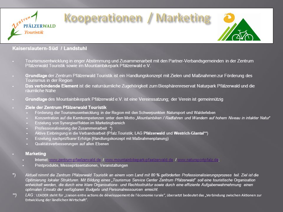 Kooperationen / Marketing