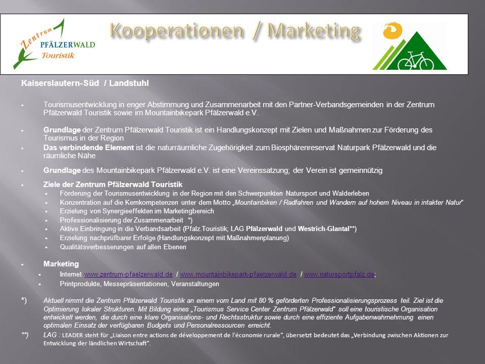 Kooperationen / Marketing