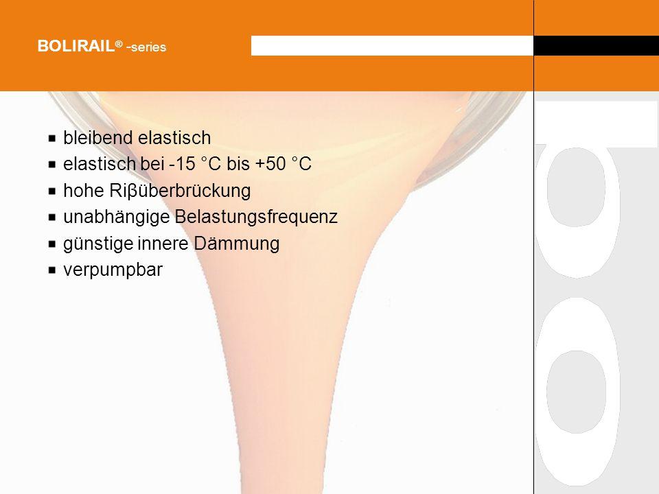 elastisch bei -15 °C bis +50 °C hohe Riβüberbrückung