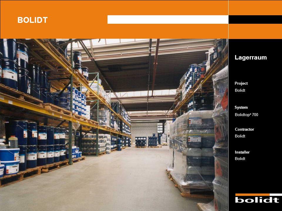 BOLIDT Lagerraum Project Bolidt Bolidtop® 700 Bolidt Bolidt