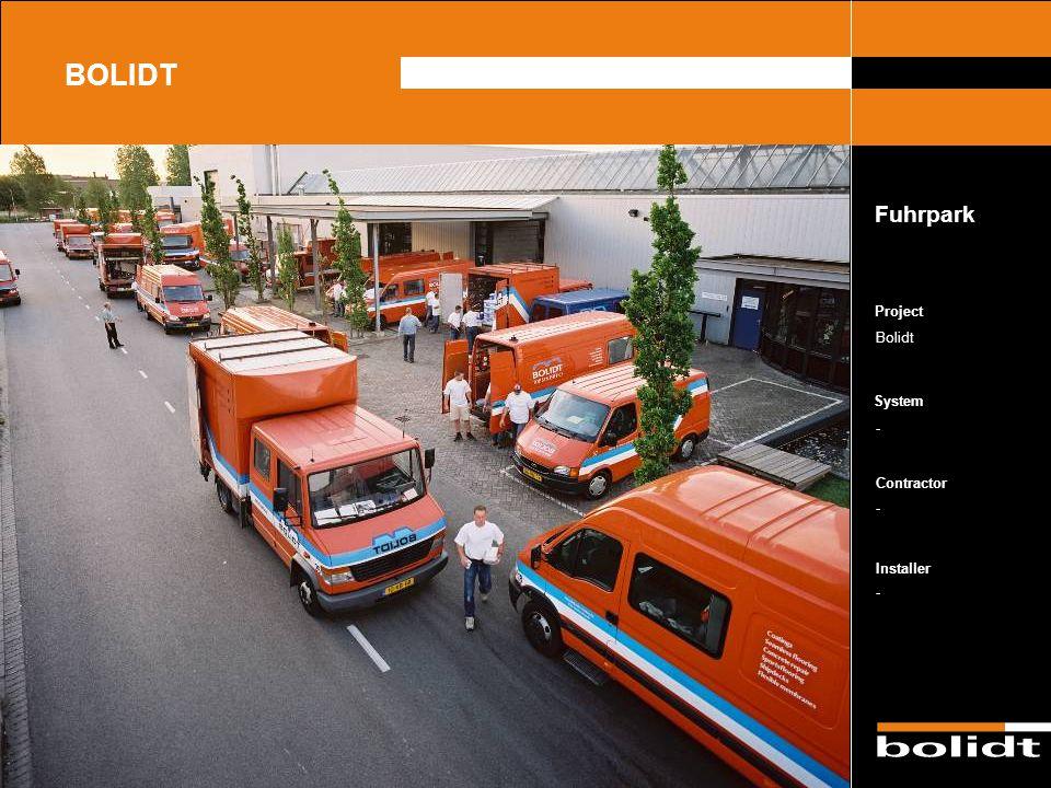 BOLIDT Fuhrpark Project Bolidt - - -