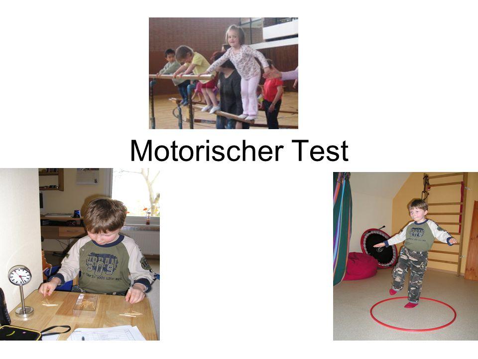Motorischer Test