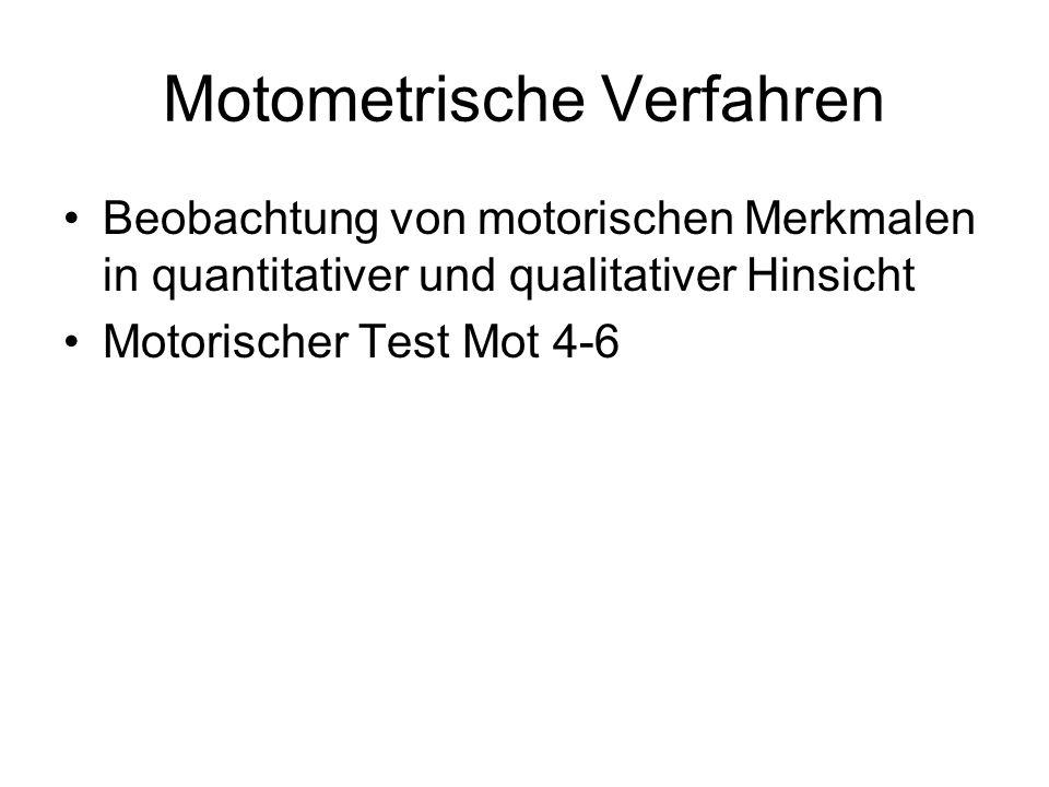 Motometrische Verfahren
