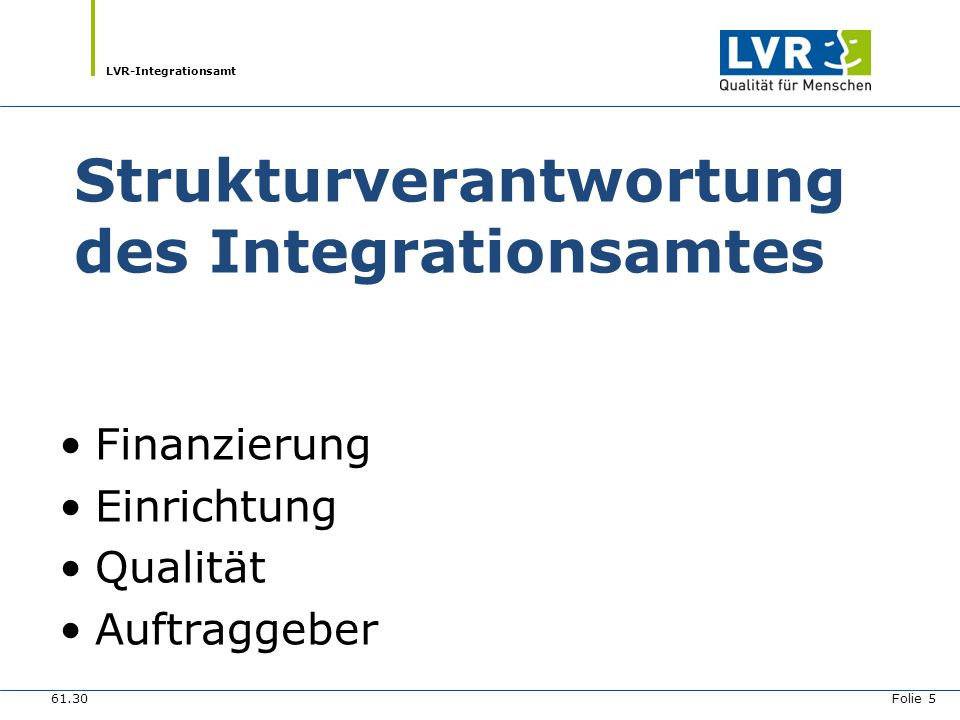 Strukturverantwortung des Integrationsamtes