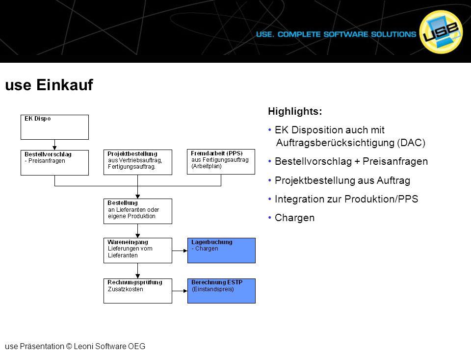 use Einkauf Highlights: