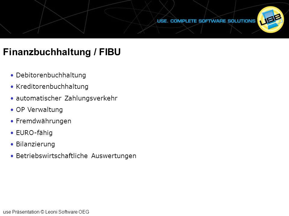 Finanzbuchhaltung / FIBU
