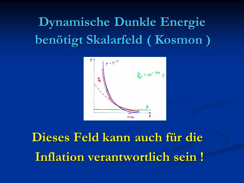 Dynamische Dunkle Energie