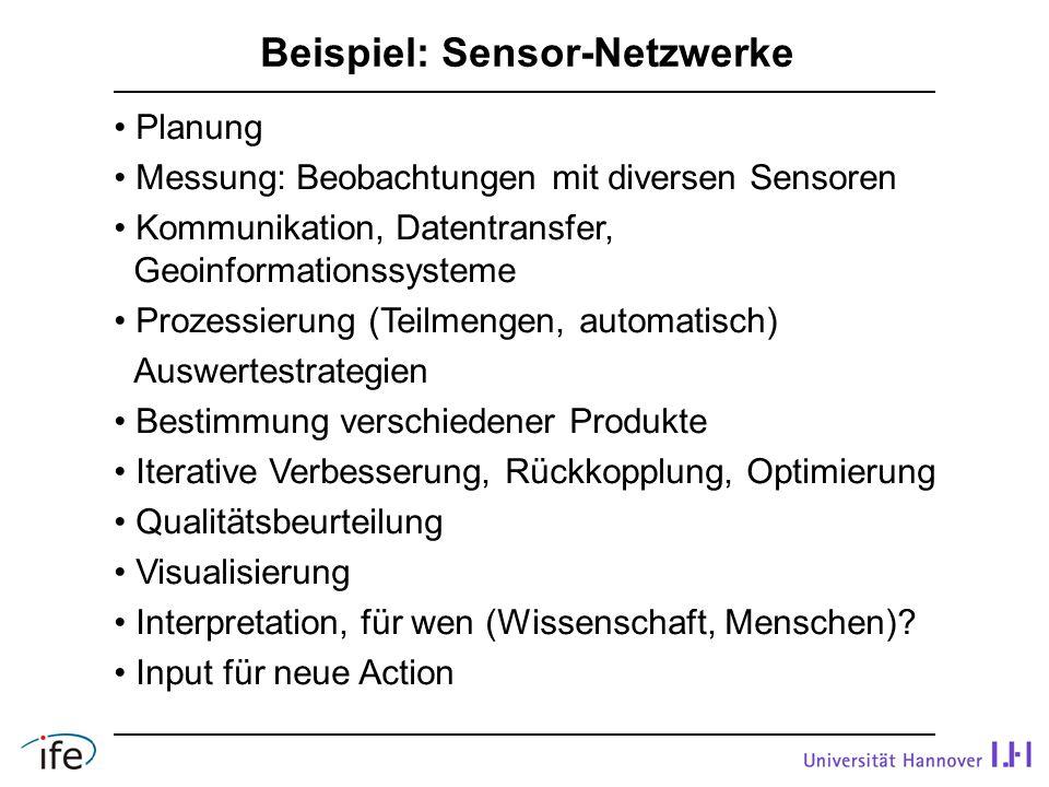Beispiel: Sensor-Netzwerke