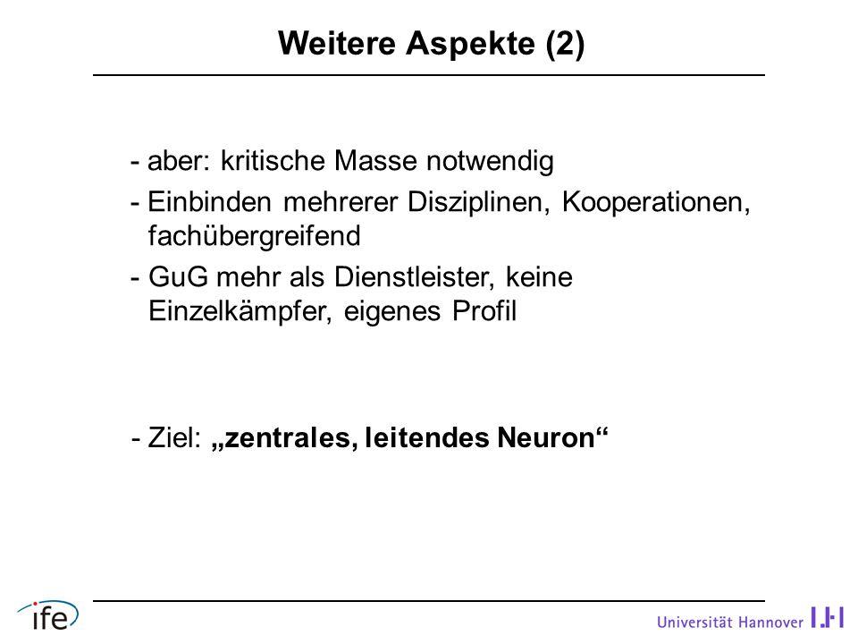 """- Ziel: """"zentrales, leitendes Neuron"""