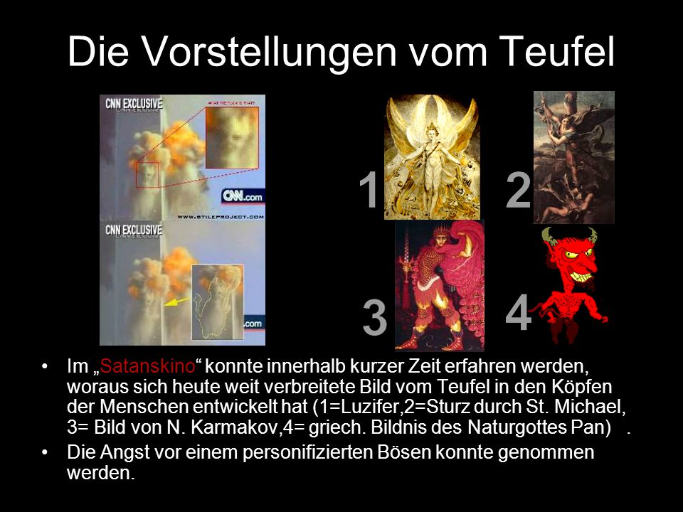 Die Vorstellungen vom Teufel
