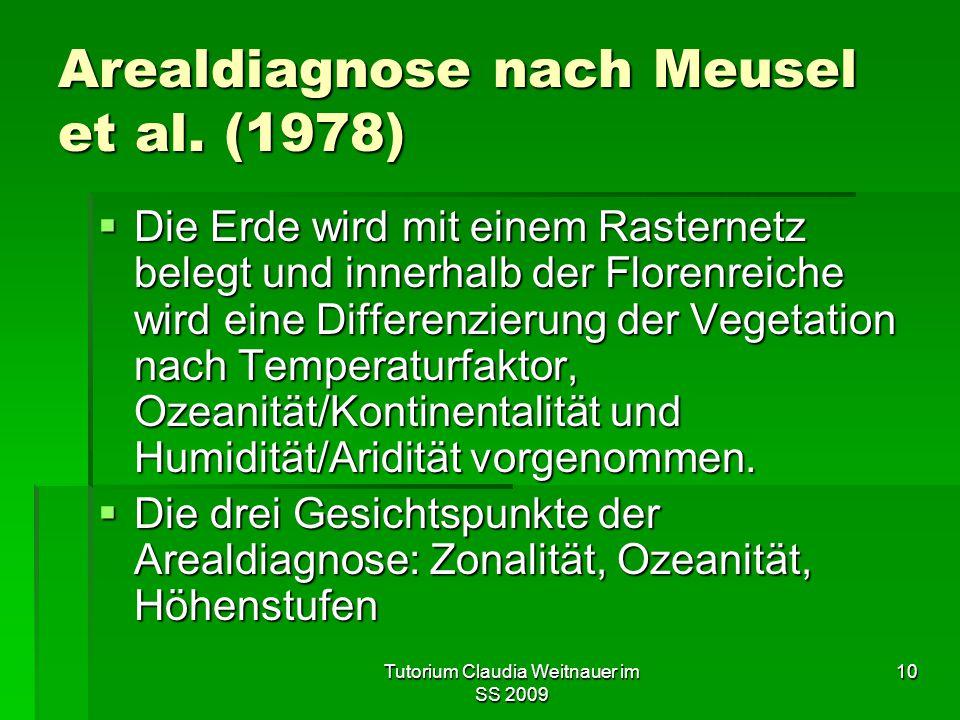 Arealdiagnose nach Meusel et al. (1978)