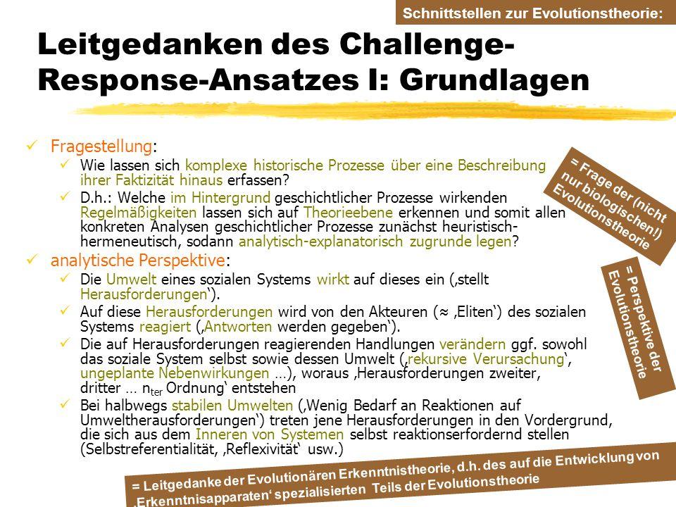 Leitgedanken des Challenge-Response-Ansatzes I: Grundlagen