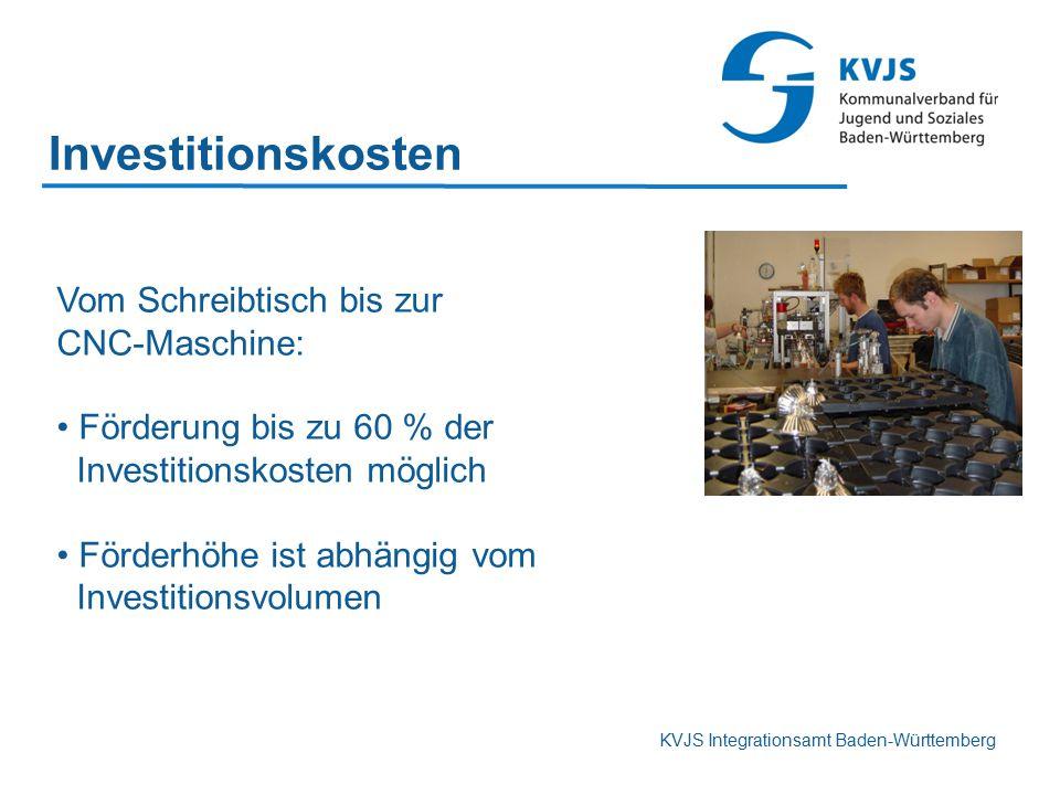 Investitionskosten Vom Schreibtisch bis zur CNC-Maschine: