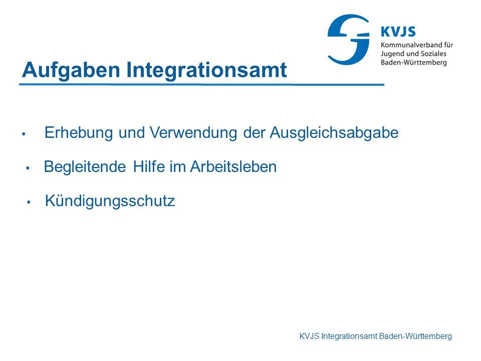 Aufgaben Integrationsamt
