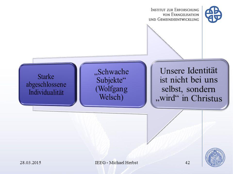 08.04.2017 IEEG - Michael Herbst Starke abgeschlossene Individualität