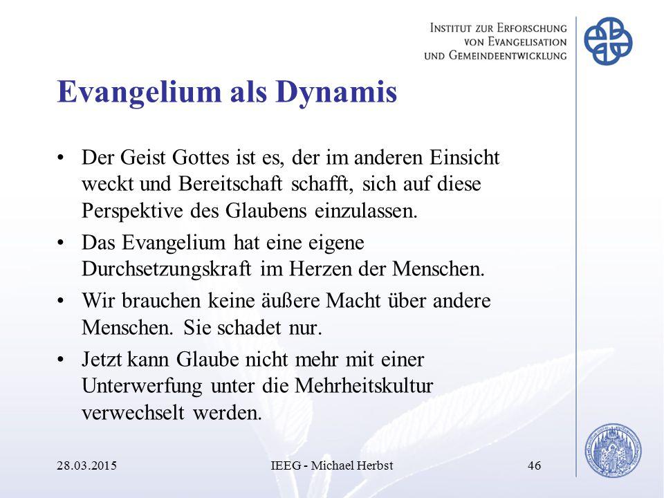 Evangelium als Dynamis