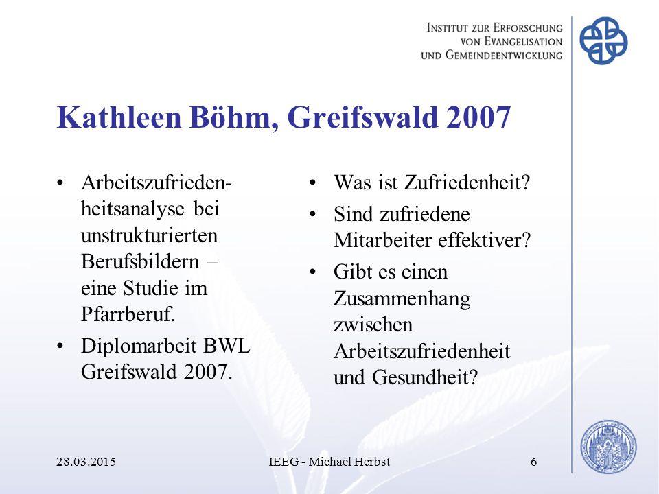 Kathleen Böhm, Greifswald 2007