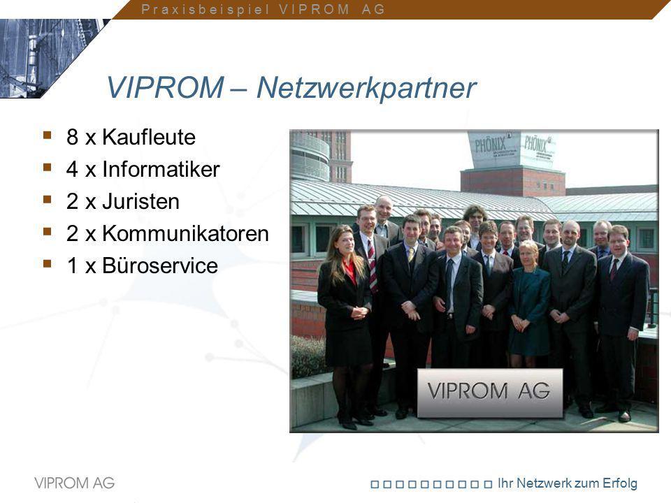 VIPROM – Netzwerkpartner