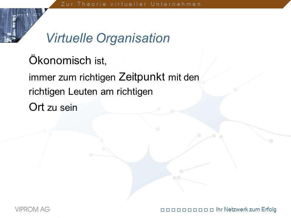 Virtuelle Organisation