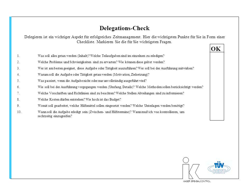 Delegations-Check