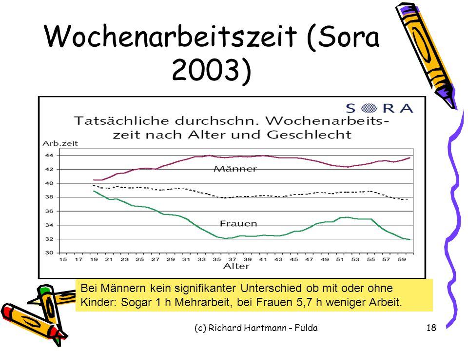Wochenarbeitszeit (Sora 2003)