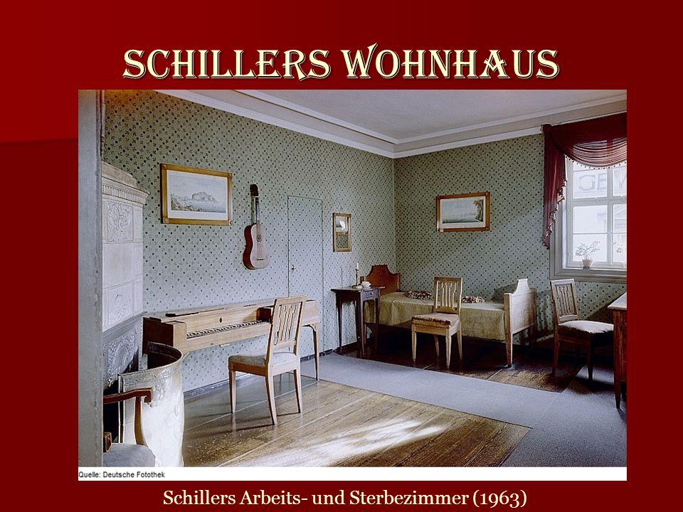 Schillers Arbeits- und Sterbezimmer (1963)