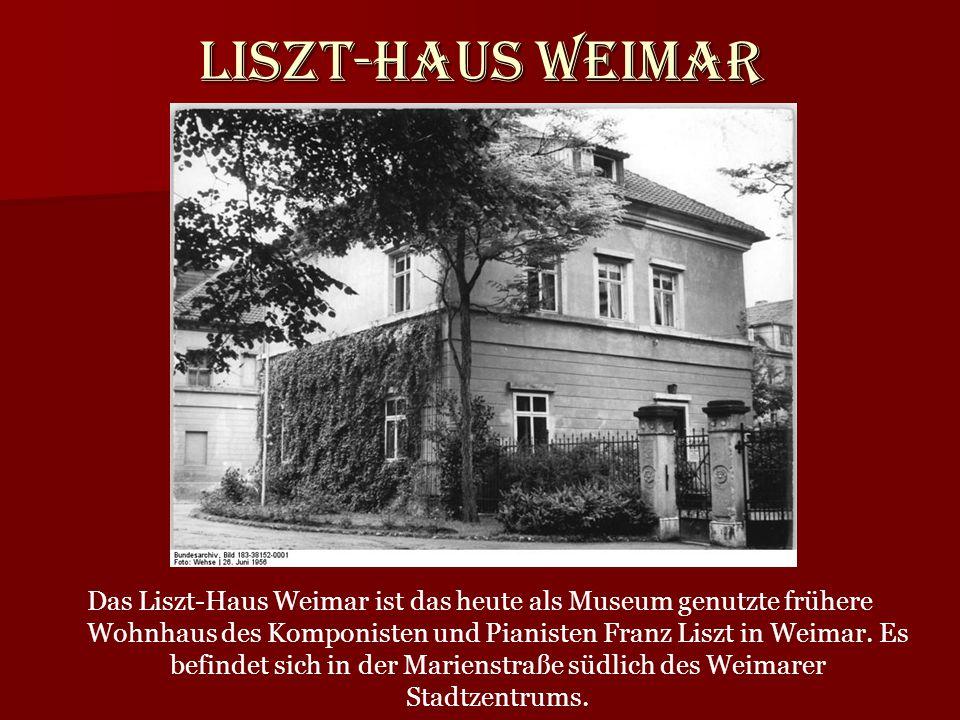 Liszt-Haus Weimar