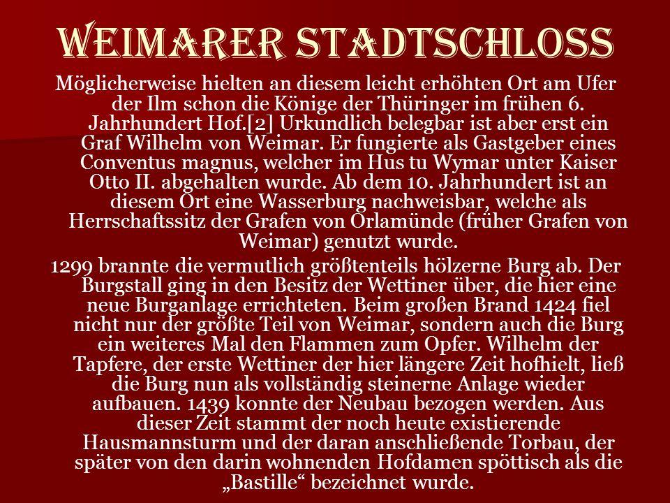 Weimarer Stadtschloss