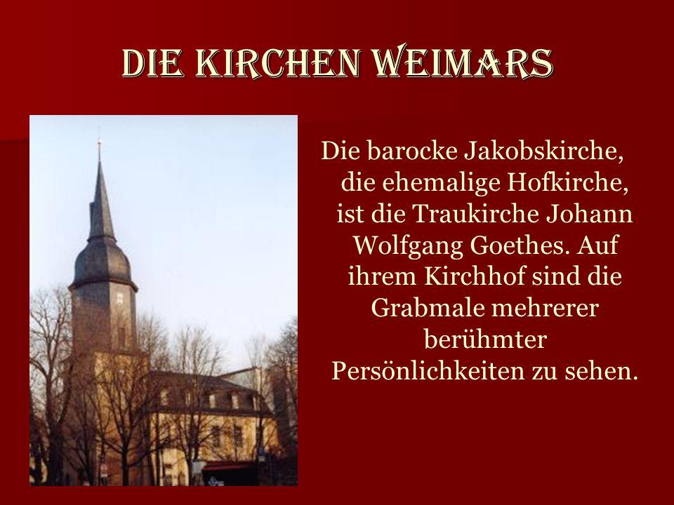 Die Kirchen Weimars