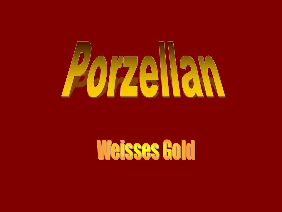 Porzellan Weisses Gold