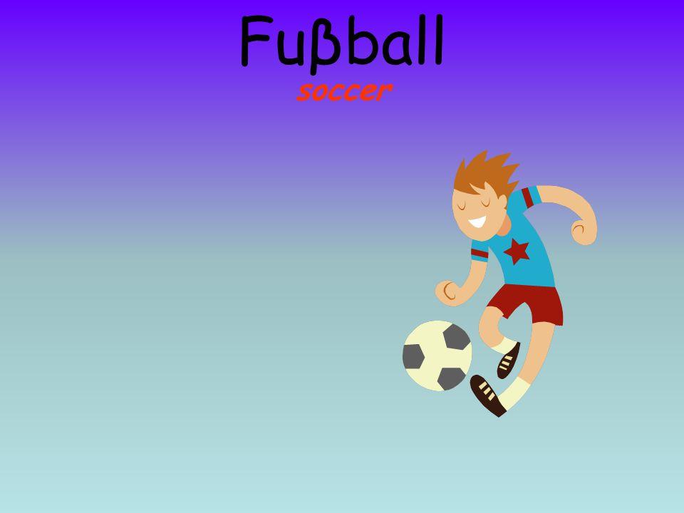 Fuβball soccer