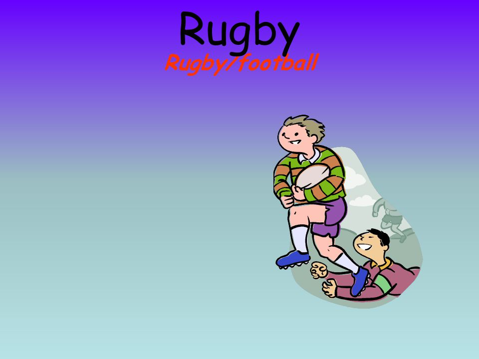 Rugby Rugby/football