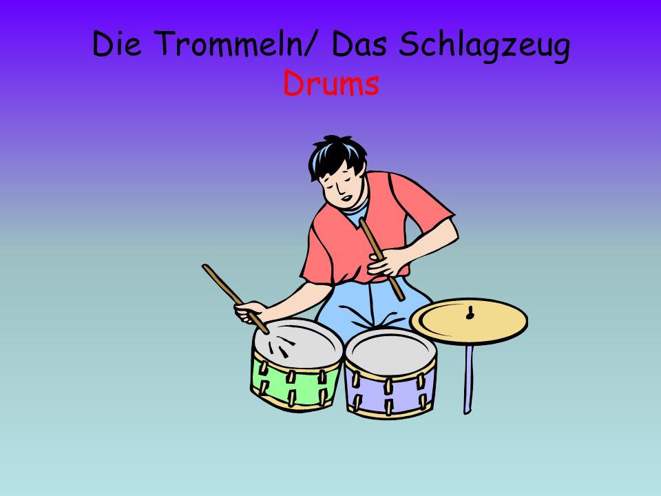 Die Trommeln/ Das Schlagzeug Drums