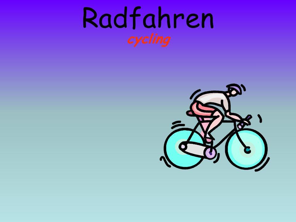 Radfahren cycling