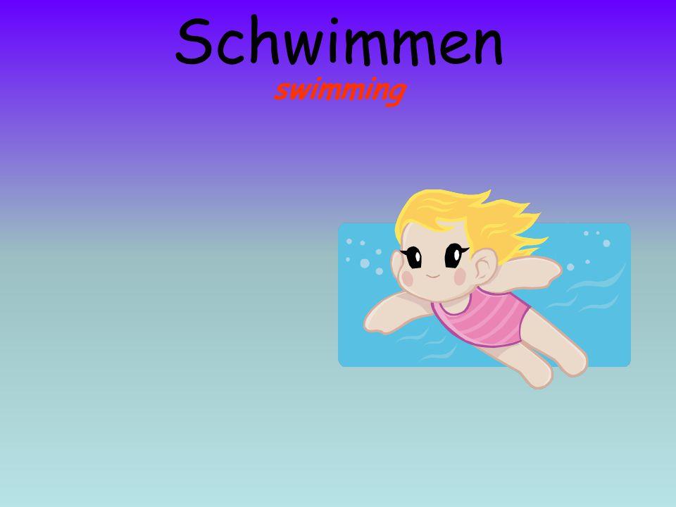 Schwimmen swimming
